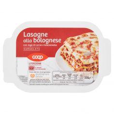 Coop-Lasagne alla bolognese con ragù di carne e besciamella Surgelate 330 g