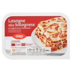 Coop-Lasagne alla bolognese con ragù di carne e besciamella Surgelate 600 g