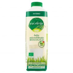 Coop-latte microfiltrato Biologico Intero 1 L