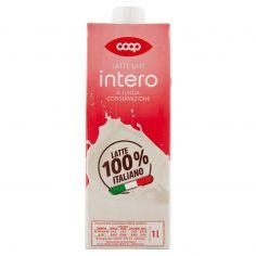 Coop-Latte UHT intero a Lunga Conservazione 1 l