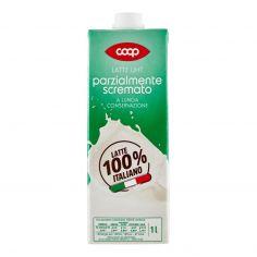 Coop-Latte UHT parzialmente scremato a Lunga Conservazione 1 l