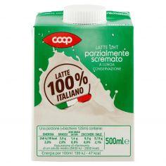 Coop-Latte UHT parzialmente scremato a Lunga Conservazione 500 ml