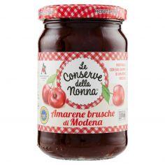 CONSERVE DELLA NONNA-Le conserve della nonna Amarene brusche di Modena 340 g