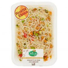Le Delizie Spaghetti di Soia con Verdure