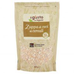 LIBERA TERRA-Libera Terra il giusto gusto dei legumi Zuppa di ceci ai cereali 400 g