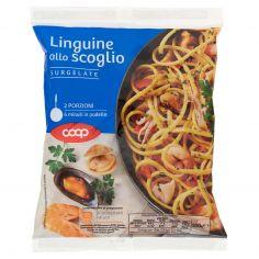 Coop-Linguine allo scoglio Surgelate 550 g