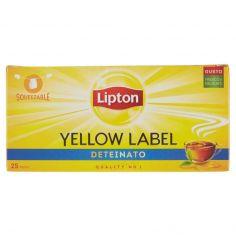 LIPTON-Lipton Yellow Label Deteinato 25 Filtri 37,5 g
