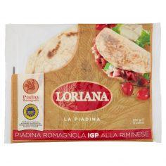 LORIANA-Loriana Piadina Romagnola IGP alla Riminese 3 pz 350 g