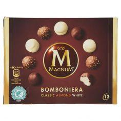 MAGNUM-Magnum Bomboniera Classic Almond White 12 gelati 104 g