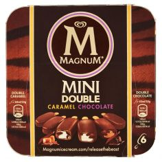 MAGNUM-Magnum Mini Double Caramel Chocolate 6 x 50 g