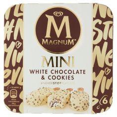 MAGNUM-Magnum Mini White Chocolate & Cookies 6 x 45 g