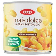 Coop-mais dolce in Grani Sottovuoto 326 g