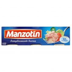 MANZOTIN-Manzotin 3 lattine da 90 g