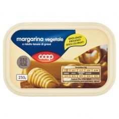 Coop-margarina vegetale a ridotto tenore di grassi 250 g