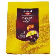 Coop-Masaccio Orzo Tostato 15 Capsule di Orzo Tostato e Macinato 75 g