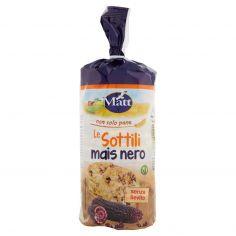 MATT-Matt non solo pane Le Sottili mais nero 150 g