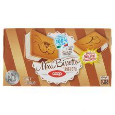 Coop-Maxi Biscotto Trigusto Gusto Panna, Cioccolato e Zabaione 6 x 80 g