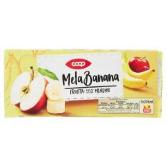 Coop-Mela Banana 3 x 200 ml