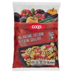 Coop-Melanzane Zucchine Peperoni Grigliati Surgelati 450 g