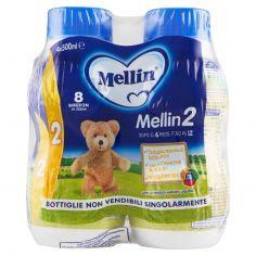MELLIN-Mellin 2 Latte di Proseguimento Liquido 4 x 500 ml