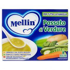 MELLIN-Mellin Passato di verdure 8 bustine monodose 104 g