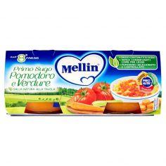 MELLIN-Mellin Primo Sugo Pomodoro e Verdure 2 x 80 g
