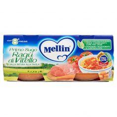 MELLIN-Mellin Primo Sugo Ragù di Vitello 2 x 80 g