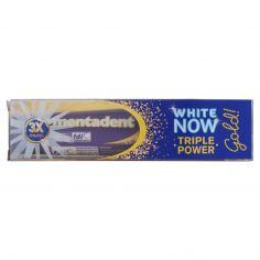 MENTADENT-Mentadent White now triple power gold 50 ml