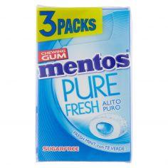 MENTOS-Mentos Pure Fresh Fresh Mint con Tè Verde 3 x 20 g