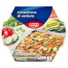 Coop-minestrone di verdure 600 g