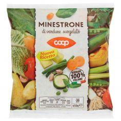 Coop-Minestrone di verdure surgelato 450 g