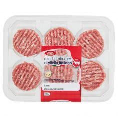 Coop-mini hamburger di vitello italiano 6 x 35 g