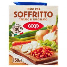 Coop-Misto per Soffritto Tritato e Surgelato 150 g