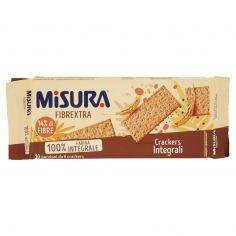 MISURA-Misura Fibrextra 100% Farina Integrale Crackers Fibre Extra 385 g