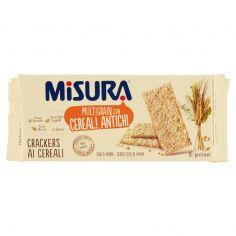 MULTIGRAIN-Misura Multigrain con Cereali Antichi Crackers ai Cereali 350 g