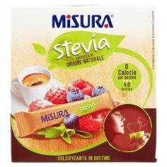 MISURA-Misura Stevia Dolcificante in Bustine 40 x 1,5 g
