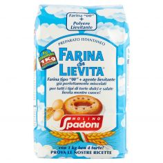 SPADONI-Molino Spadoni Preparato Istantaneo Farina che Lievita 1000 g