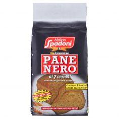 SPADONI-Molino Spadoni 1 kg di preparato per Pane Nero ai 7 cereali 1000 g