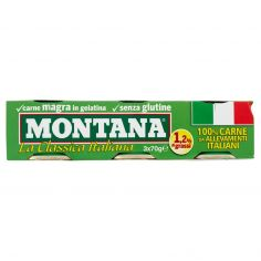MONTANA-Montana La Classica Italiana 3 x 70 g