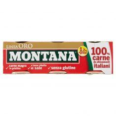 MONTANA-Montana Linea Oro 3 x 90 g