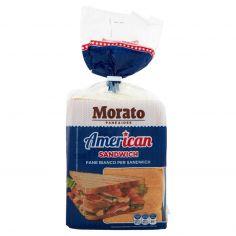 AMERICAN-Morato American Pane Bianco Sandwich 550 g