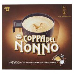 COPPA DEL NONNO-MOTTA COPPA DEL NONNO Classica gelato al Caffè con infuso di Caffè 4 coppe