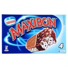MAXIBON-MOTTA MAXIBON biscotto gelato alla stracciatella con copertura al cacao 4 biscotti