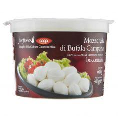 Coop-Mozzarella di Bufala Campana Denominazione di Origine Protetta bocconcini 300 g