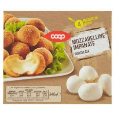 Coop-Mozzarelline Impanate Surgelate 240 g