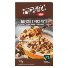Coop-Muesli Croccante con Fiocchi d'Avena, Cioccolato Fondente e Nocciole 375 g