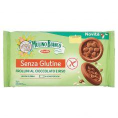 MULINO BIANCO-Mulino Bianco Frollini al Cioccolato e Riso Senza Glutine 250 g