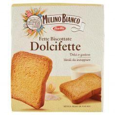 MULINO BIANCO-Mulino Bianco Fette Biscottate Dolcifette 315g