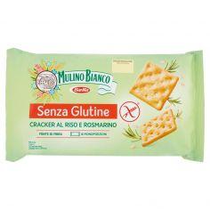 MULINO BIANCO-Mulino Verde Senza Glutine Cracker al Riso e Rosmarino 200 g