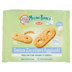 MULINO BIANCO-Mulino Verde Senza Zuccheri Aggiunti Frollini con Yogurt e cereali 200 g
